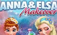 Anna and Elsa Makeover