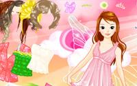 butterfly girl dressup